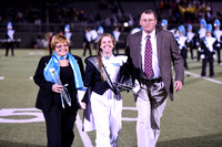 Warhill varsity football vs LHS 10-31-14 SENIOR NIGHT