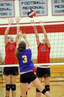 Bay Rivers Girls MS Volleyball Dist Final