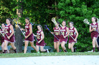 Poquoson varsity .vs Williamsburg Playoff Game 5-8-12