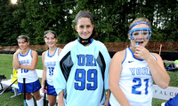 York varsity vs Jamestown 10-1-14